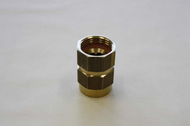 Petrol pumpcoupling Type AF, Hose coupling with a ferrule to be assembled with rubber hoses, female threaded.