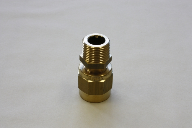 Petrol pumpcoupling Type AM, Coupling in two parts, male threaded.