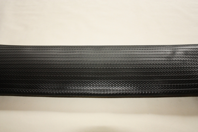 Iriflex black, Layflat discharging hose for the fire brigade, agriculture, chemical industry.