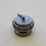 Couplings, Blank cap with locking ring and chain, DSP Type BD