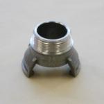 Koppelingen, koppeling met uitwendige schroefdraad zonder grendel, DSP Type BM
