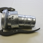 Perrot Type C78, Female coupling with hose tail for hoseclamp assembly.