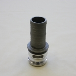 Kamlock Type E, Male adapter with hose tail