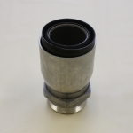 Lug Nut Type L167 H, Coupling with helical shank, male thread for assembly of Composite hoses.