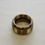 Lug Nut Type L173, Male threaded to reduced female threaded.