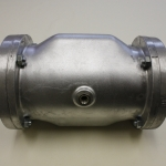 Pinch valve ype Quets TW, The pinch valve closes by using air/fluid supplied to the valve body.