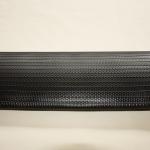 Iriflex black, Geribde persslang geschikt voor brandweer, chemische industrie, raffinaderij en landbouw.