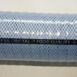 Vacupress Cristal, Universal hose for suction and delivery of liquid foodstuffs, drinking water, spirits to 28%, foodstuffs, where heavy use conditions are demanded.